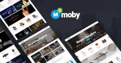 Moby - WordPress Multipurpose Theme 4
