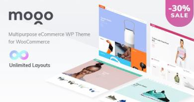 Mogo - Fastest Fashion WooCommerce WordPress Theme 2