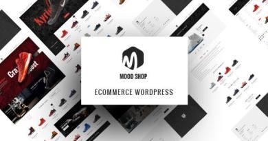 Moodshop - Modern eCommerce WordPress theme 2