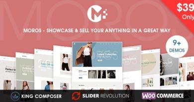 Moros - eCommerce WordPress Theme 2