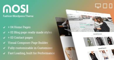 MOSI Fashion Responsive Multi-Purpose eCommerce WordPress Theme 2