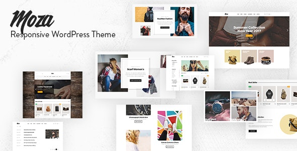 Moza - Minimal WooCommerce WordPress Theme 1