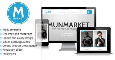 Munmarket - A One and Multi Page Ecommerce Theme 5