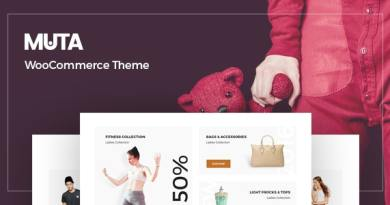 Muta - Clean, Multi-Purpose Responsive WooCommerce WP Theme 2