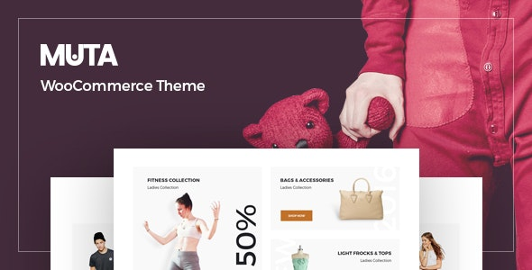 Muta - Clean, Multi-Purpose Responsive WooCommerce WP Theme 6