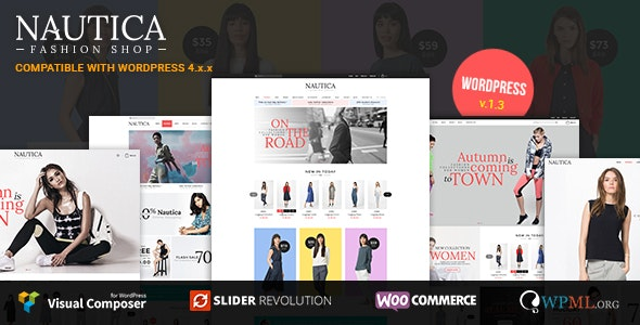 Nautica - Responsive WooCommerce WordPress Theme 3