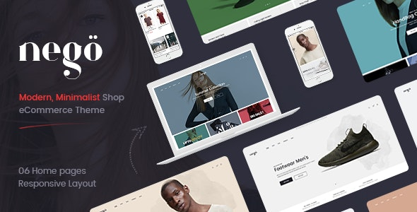 Nego - Fashion and Furniture Theme for WooCommerce WordPress 1