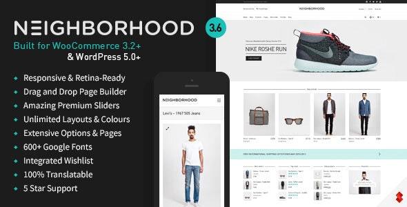 Neighborhood - Responsive Multi-Purpose Shop Theme 1