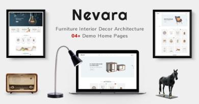 Nevara - Furniture Theme for WooCommerce WordPress 2