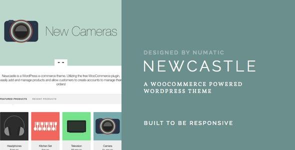Newcastle - A WooCommerce Powered WordPress Theme 1
