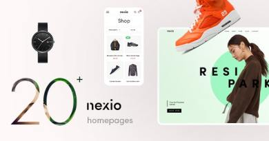 Nexio - Fashion WooCommerce Theme +  RTL 4