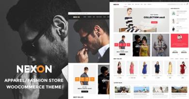 Nexon - Apparel Store Multipurpose Responsive WooCommerce WordPress Theme 3