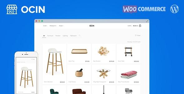 Ocin - Responsive WordPress WooCommerce Theme 8