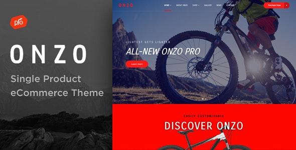 Onzo - Single Product & Bike Shop eCommerce Theme 3
