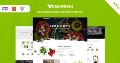 Orgafresh | Organic & Food WooCommerce WordPress Theme 2