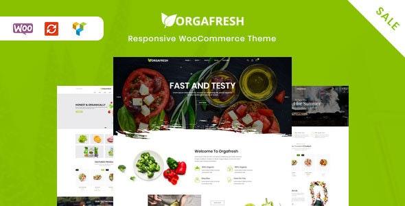 Orgafresh   Organic & Food WooCommerce WordPress Theme 1