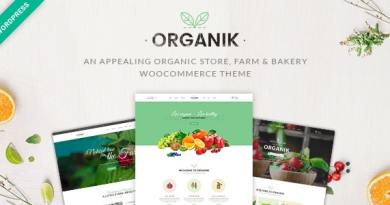Organik - Organic Food Store WordPress Theme 3