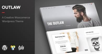 Outlaw - Stylish WooCommerce WordPress Theme 4