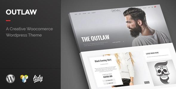 Outlaw - Stylish WooCommerce WordPress Theme 1