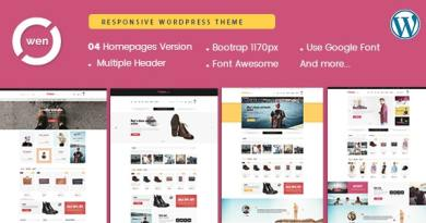 Owen - Fashion & Multipurpose WordPress Theme 4