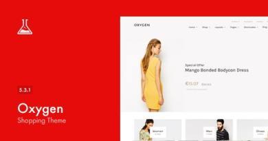 Oxygen - WooCommerce WordPress Theme 2