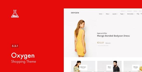 Oxygen - WooCommerce WordPress Theme 1