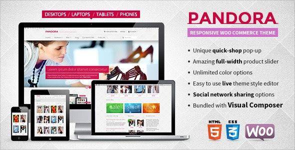 Pandora — Responsive WooCommerce HTML5 Theme 1