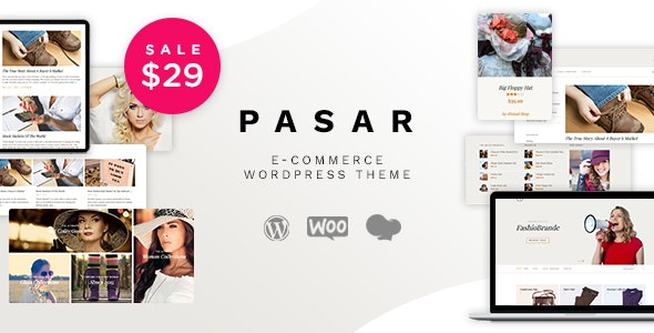 Pasar - eCommerce and Marketplace WordPress Theme 1