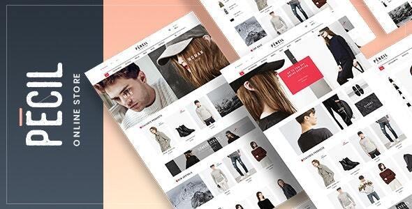 Pecil - Fashion WooCommerce Theme 1