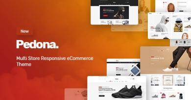 Pedona - Fashion & Sport Theme for WooCommerce WordPress 7