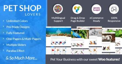 Pet Shop Lovers - Woo/eCommerce WP Theme 4