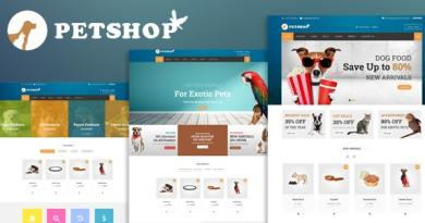 Petshop: A Creative WooCommerce theme 2