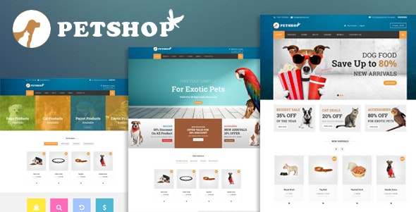 Petshop: A Creative WooCommerce theme 1