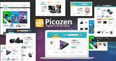 Picozen - Electronics theme for WooCommerce WordPress 3