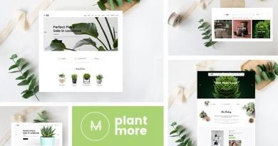 Plantmore - Responsive Theme for WooCommerce WordPress 2
