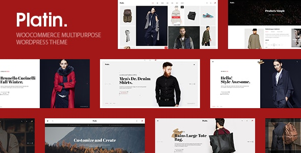 Platin WooCommerce Multipurpose WordPress Theme 4