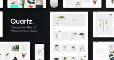 Quartz - Creative WooCommerce & WordPress Theme 3