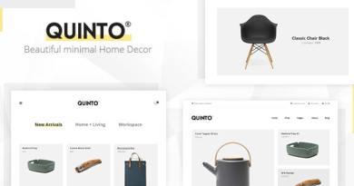Quinto - Beautiful Minimal WooCommerce WordPress Theme 53