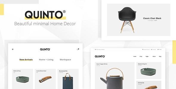 Quinto - Beautiful Minimal WooCommerce WordPress Theme 2