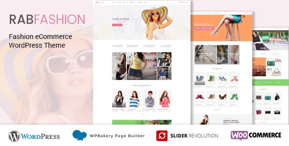 RAB - Fashion eCommerce WordPress Theme 1