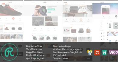 Raboda - eCommerce Responsive WordPress Theme 53