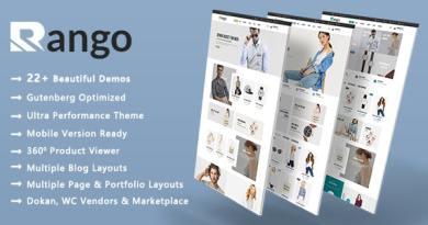 Rango | Elegant Fashion WooCommerce WordPress Theme 2