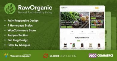 RawOrganic - Healthy Food Store 3