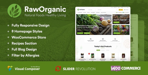 RawOrganic - Healthy Food Store 4