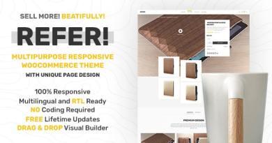 Refer - Premium WooCommerce Theme 3