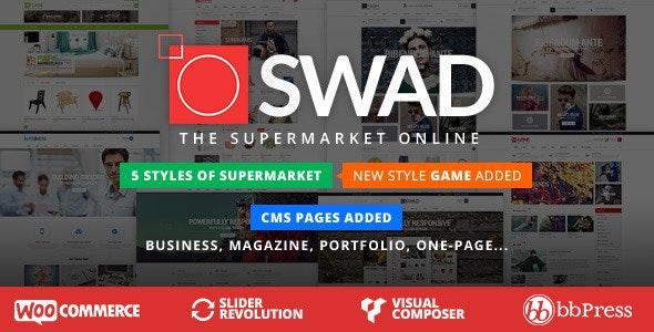 Responsive Supermarket Online Theme - Oswad 3