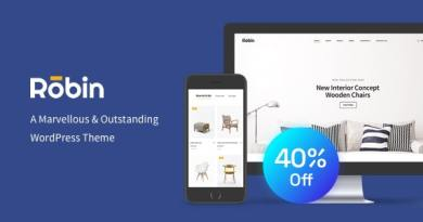 Robin - Furniture Shop WooCommerce WordPress Theme 3