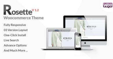 Rosette - Fashion Store Woocommerce Theme 5