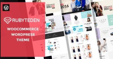 RubyTeden - Responsive WooCommerce Shopfront Theme 2