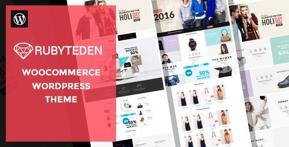 RubyTeden - Responsive WooCommerce Shopfront Theme 1
